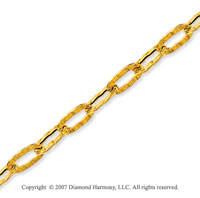14k Yellow Gold Exquisite Modern Style Ankle Bracelet