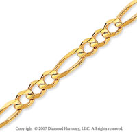 14k Yellow Goldold Elegant Thin 3.90mm Classic Figaro Chain