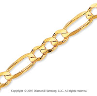 14k Yellow Goldold Elegant Medium 5.00mm Classic Figaro Chain